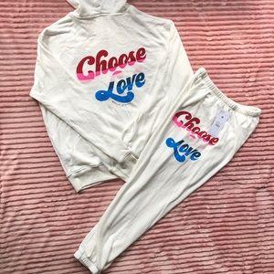 Spiritual Gangster Jogging Set Choose Love